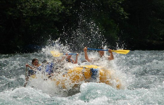 Horse Creek Lodge & Outfitters: We can take you rafting on the McKenzie River - fun for the whole family!