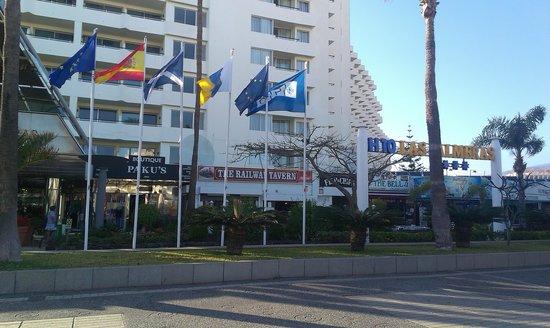 H10 Las Palmeras: las palmeras hotel