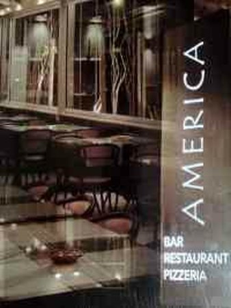 Restaurant America : There beautiful business card.