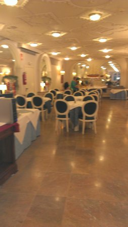 H·TOP Amaika Superior : sala ristorante
