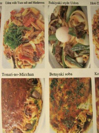 Donguri Shijokarasuma : Menu_Okonomiyaki_Betayaki_Negiyaki