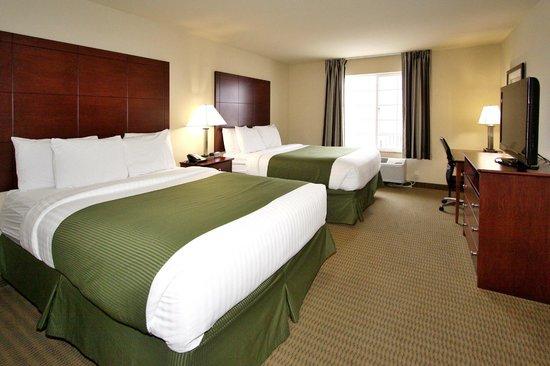 Cobblestone Hotel & Suites: Dubble Queen Room