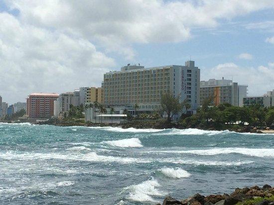 Condado Lagoon Villas at Caribe Hilton: View from room 7405