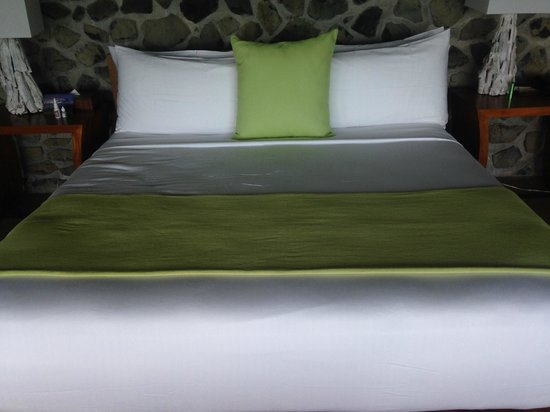 Petit St. Vincent Resort: Ironed Linens