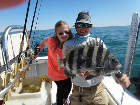 Charleston Fishfinder Charters: I Still Think My Fish is the Largest!