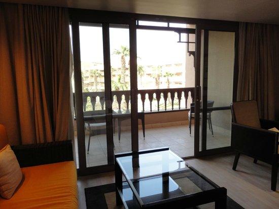 Mena House Hotel: Balcón de la habitacion
