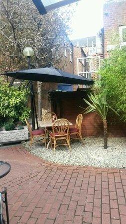 Royal Express Cafe: our garden