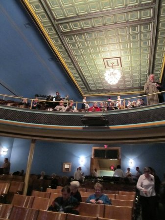 Stoughton Opera House: Balcony