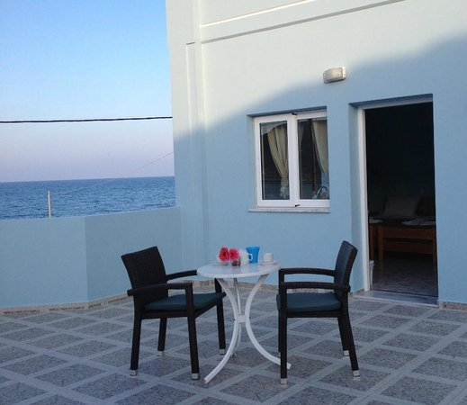 Deep Blue Sea at Georgioupolis: Balcony view