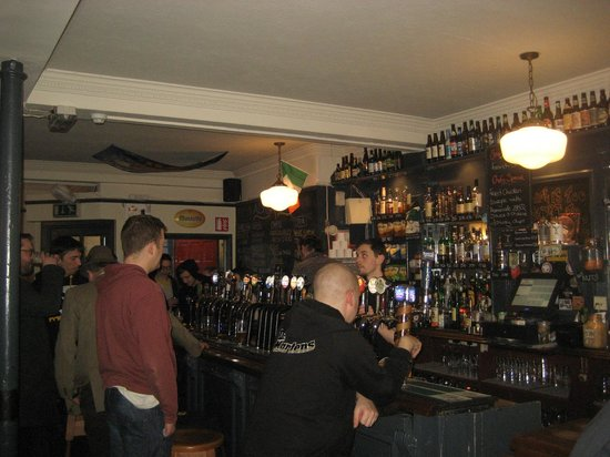 The Brew Dock: Bar downstairs