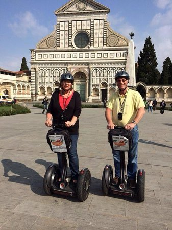Italy Segway Tours: Segway's in Florence