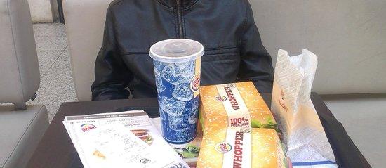 Burger King: Une présentation soignée