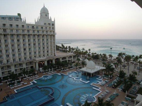 Hotel Riu Palace Aruba: VISTA DESDE HABITACION PISO 8