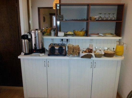 Hotel Milano : Área de Café da Manhã