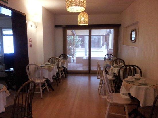 Hotel Milano: Área de Café da Manhã