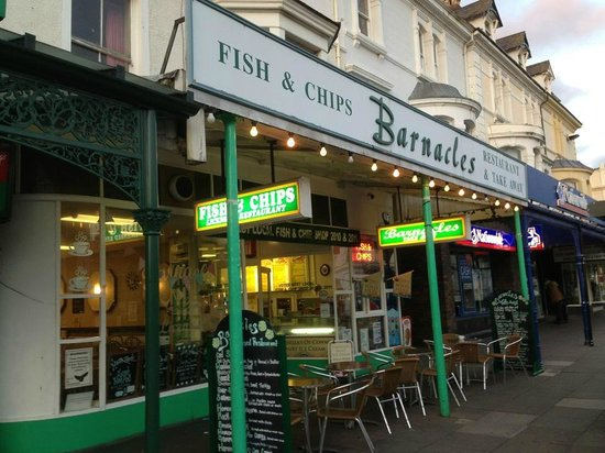 Barnacles Chip Shop: Coeliac friendly Fish and Chips