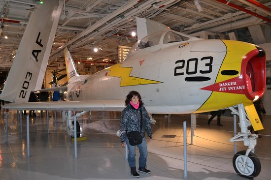 Intrepid Sea, Air & Space Museum: Aviones que participaron de la guerra