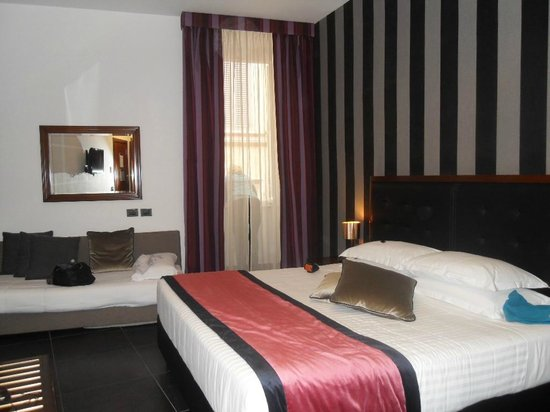Navona Colors Hotel: This was our room