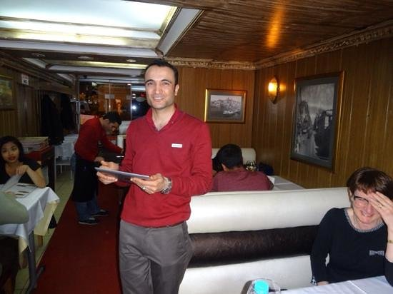 Sultanahmet Buhara Kebab House : Mr Fahreddin, made us feel welcome.