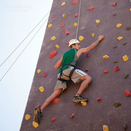 Canyon Ranch in Tucson: Rock Wall