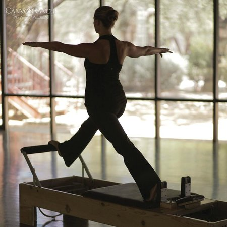 Canyon Ranch in Tucson: Pilates reformer