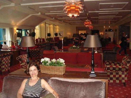 Hotel Union Geiranger: Área interna do hotel