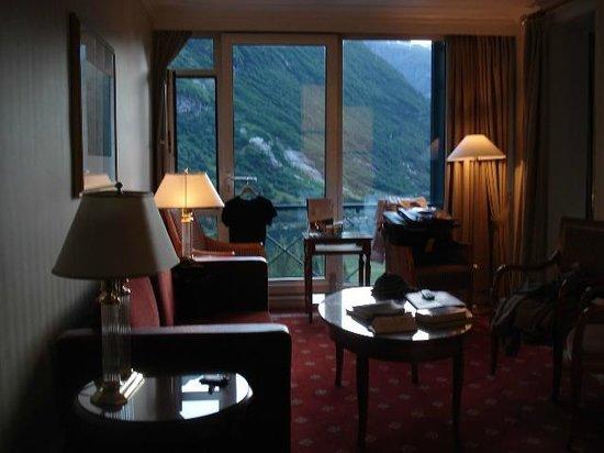 Hotel Union Geiranger: Salete dentro do apartamento