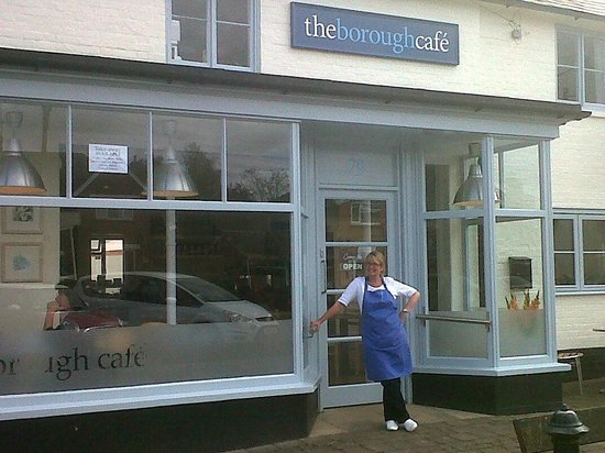 The Borough Cafe: You are very welcome!
