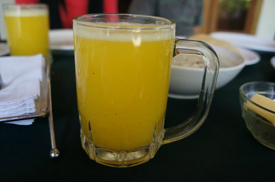 Our Land Island Backwater Resort: Fresh Juice