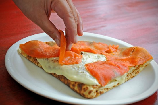 Creperie Catherine : Smoked Salmon