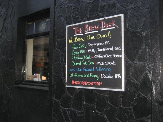 The Brew Dock: Everything except Guinness