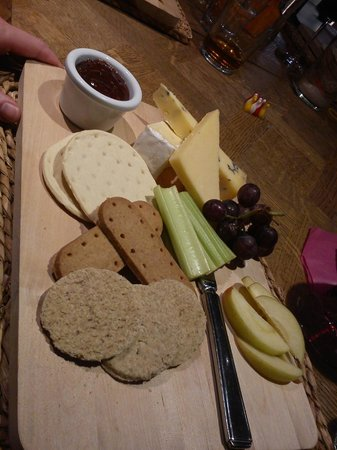 The Turtley Corn Mill: Christmas cheese board