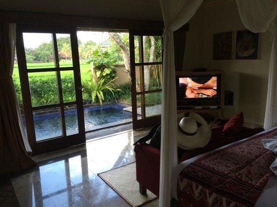 Komaneka at Monkey Forest: Pool Villa Room