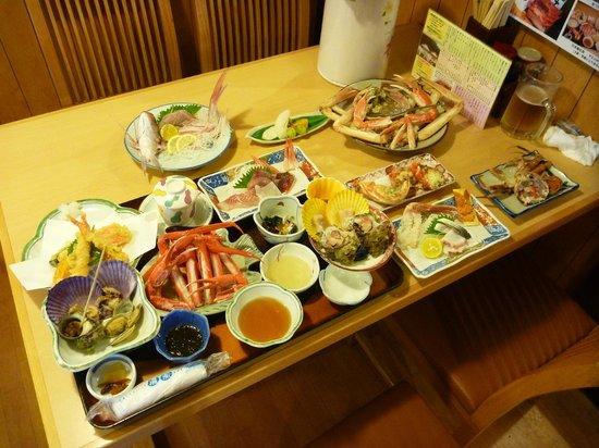 Minshuku Matsuya : 夕食