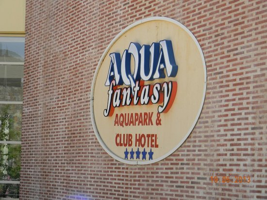 Aqua Fantasy Aquapark Hotel & SPA : Entrance Club Hotel