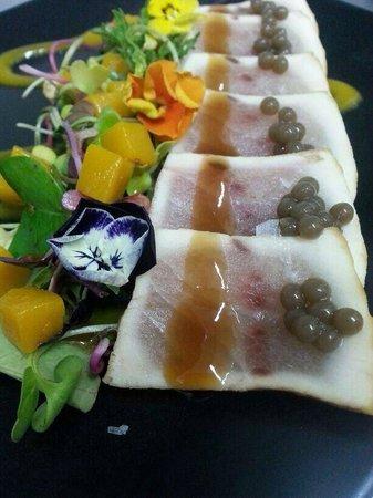 Restaurante Delirios: Takati de atun