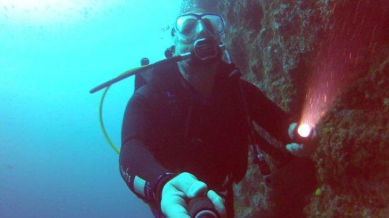 Atlantis Diving Lanzarote: Selfie @ 29m