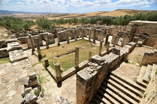 Dougga: House of Trifolium