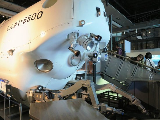 National Museum of Emerging Science and Innovation Miraikan : Submersible