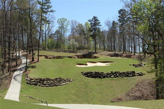Cherokee Run Golf Club: Beautiful greens