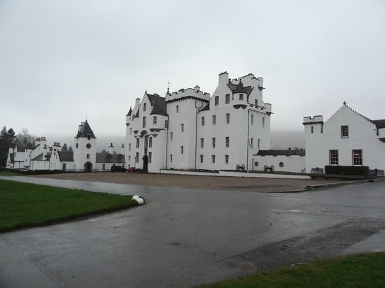 Blair Castle and Hercules Gardens: castillo de Blair