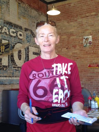Dar's  Route 66 Diner : Dar with permission