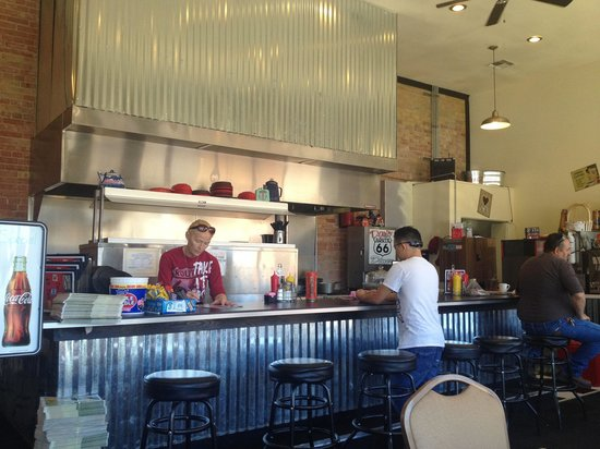 Dar's  Route 66 Diner : Booth