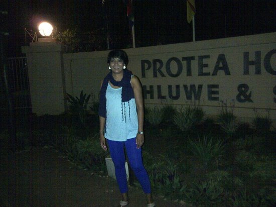 Protea Hotel Hluhluwe & Safaris: entrance