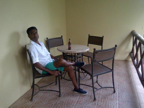 Anew Hotel Hluhluwe & Safaris: balcony