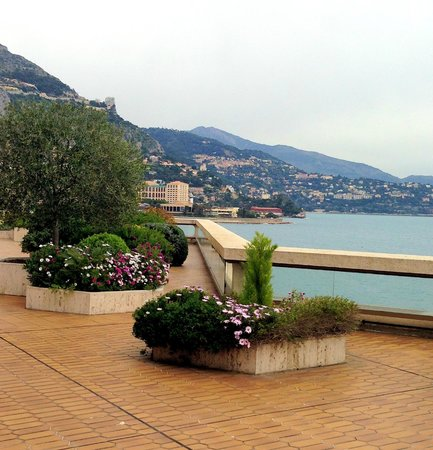 Fairmont Monte Carlo: На террасе