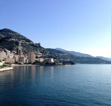 Fairmont Monte Carlo : Вид с террасы