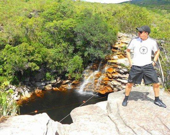 Poco do Diabo Waterfall: Dia bom .