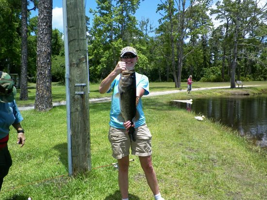 Highland Park Fish Camp: Catch and Release at the stocked pond