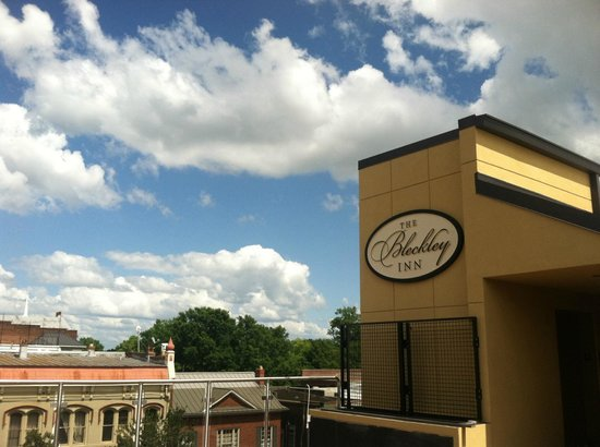 Bleckley Inn : View from rooftop
